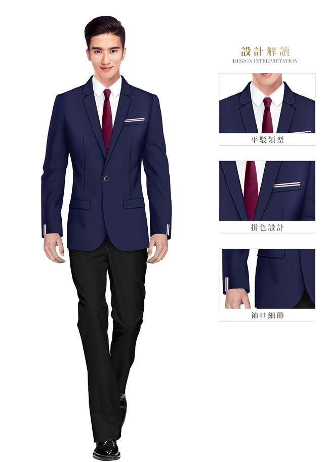 韩版男职业装西服