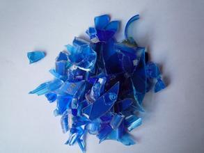 蓝色ABS破碎料