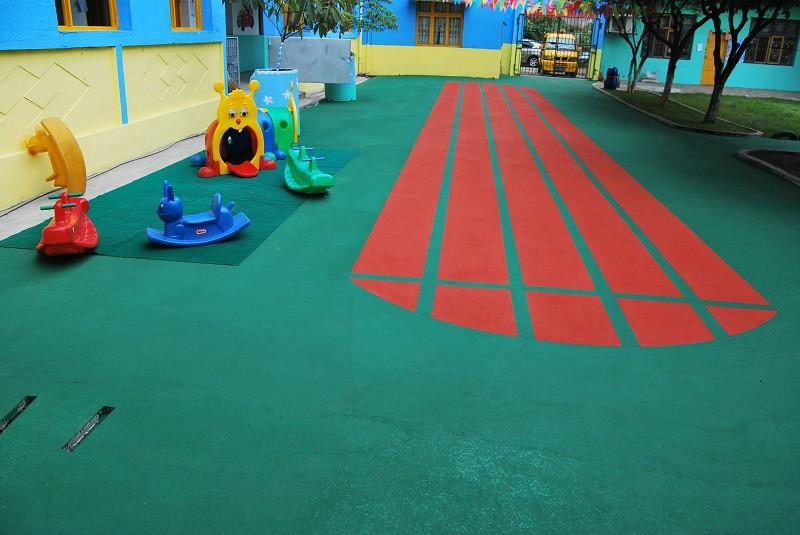 内蒙幼儿园塑胶跑道