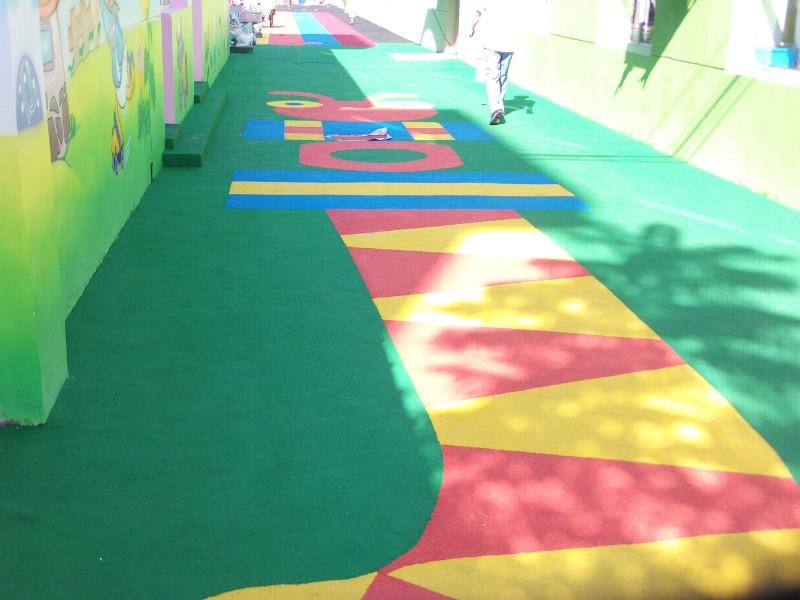 江苏幼儿园塑胶球场