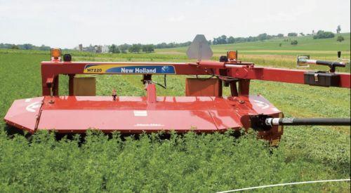 纽荷兰H7230圆盘式割草压扁机