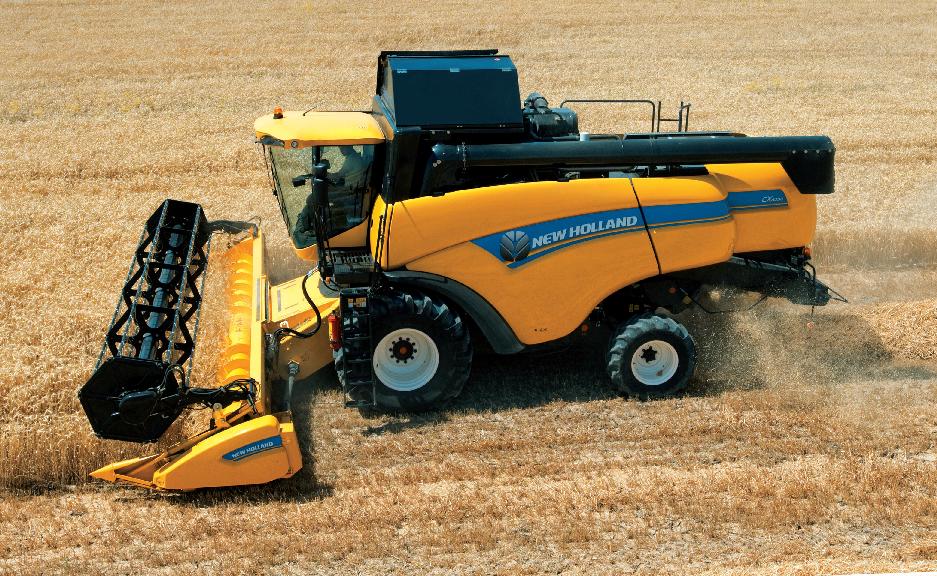 中型小麦收割机