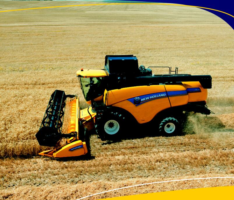 自走小麦收割机