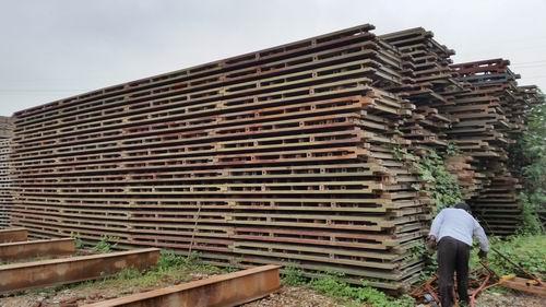 钢结构形式钢便桥租赁
