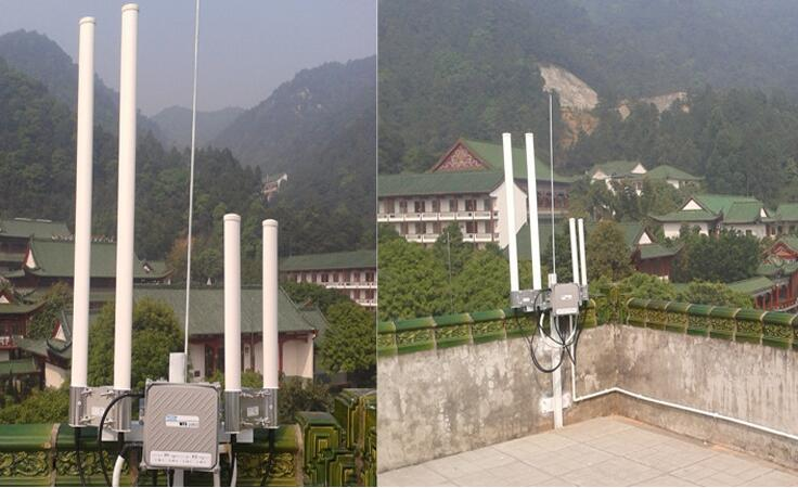 无线发射器现场安装图