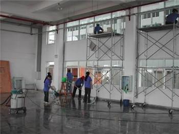 郑州建筑工程保洁