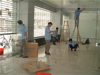 郑州二七区开荒保洁