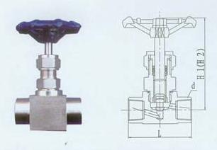 仪表测量管件截止阀