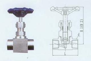 仪表管件螺纹截止阀