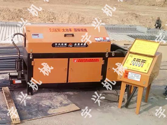 郑州钢筋调直机