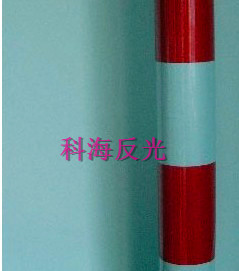 双色电信膜-15cm间距-3红3白竖条纹