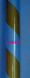 双色膜-黄白10cm间距-斜条纹
