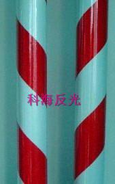 双色膜-红白10cm间距-斜条纹
