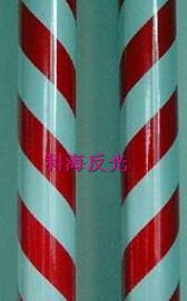 双色膜-红白5cm间距-斜条纹