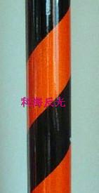 双色膜-黑橙10cm间距斜条纹