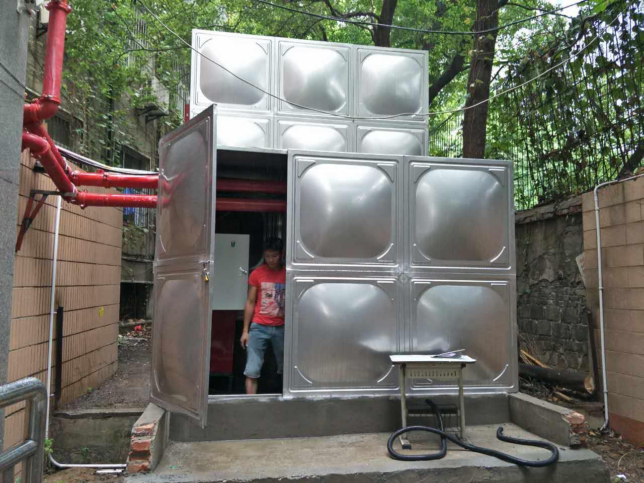 汉阳钟家村寄宿学校1.5kw消防泵