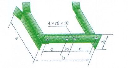 钢制电缆桥架支架