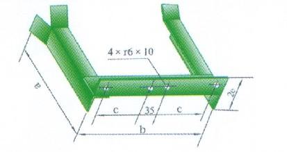 鋼制電纜橋架支架