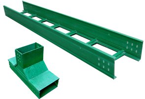 梯级式玻璃钢桥架200*500