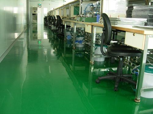 環氧樹脂薄塗防靜電地坪