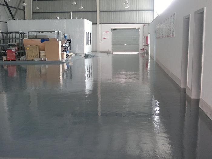 環氧樹脂砂漿薄塗地坪