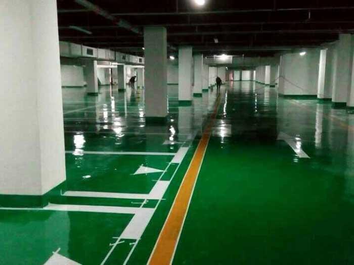 貴州停車場環氧地坪