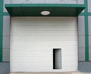 翻板库房门