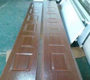 木纹工业门板加工
