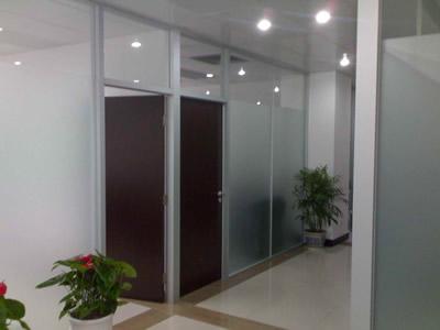 铝合金办公玻璃隔断