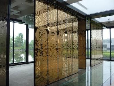 【技巧】玻璃隔断安装前组装好框架 玻璃隔断在生活中也可以起到隔音的作用