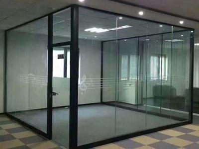 保定石家庄办公玻璃隔断