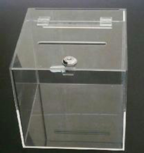 成都亚克力展示盒