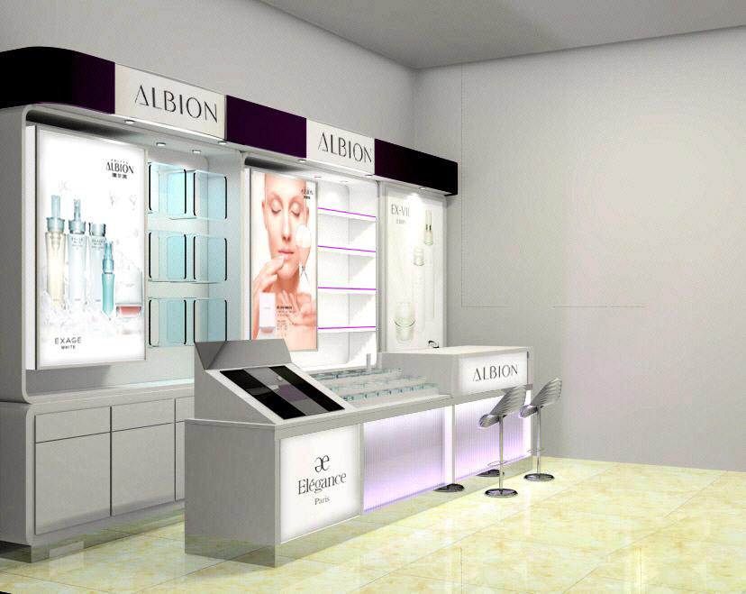 成都化妆品展示架