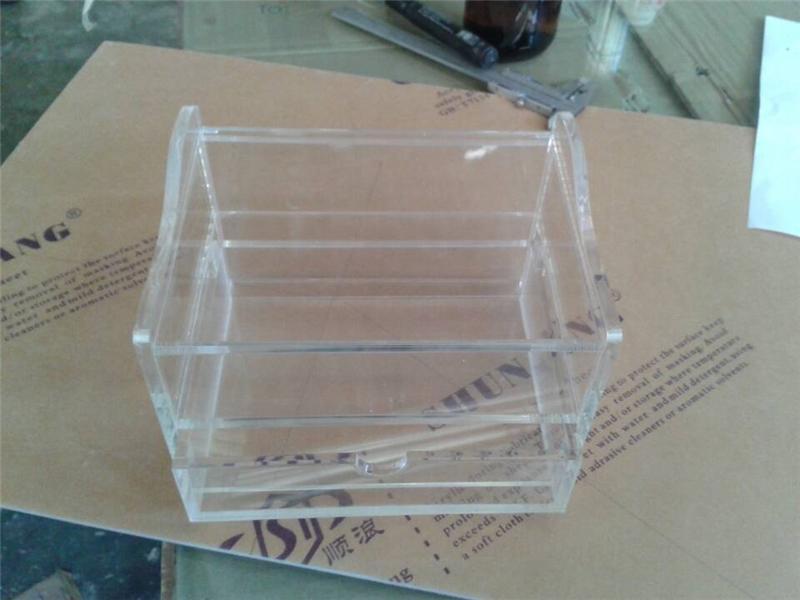 成都亚克力纸巾盒制作