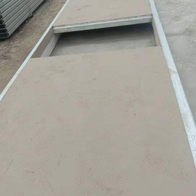 钢骨架轻型墙板生产