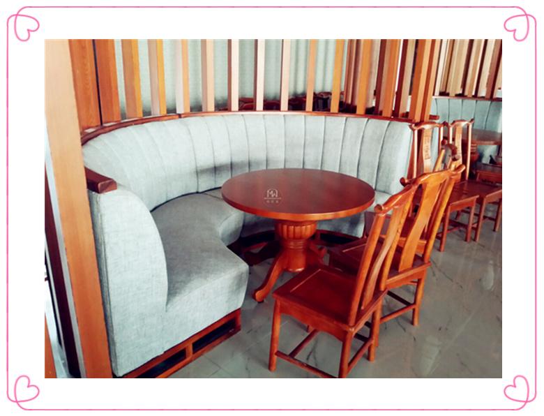 中餐家具座椅卡座
