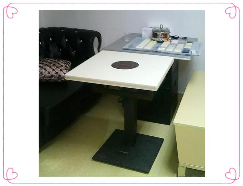 火锅店专用桌子