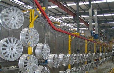 polyurethane type powder coating