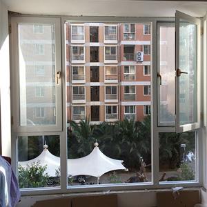 云南窗纱一体门窗