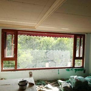 昆明窗纱一体门窗