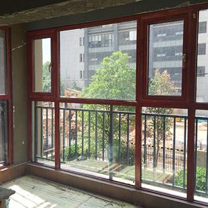 云南金橡木断桥铝门窗