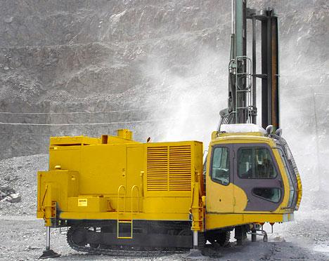 DR65A露天高风压潜孔钻机