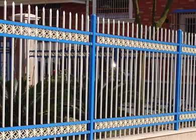 丽江锌钢护栏网