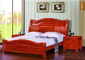 西安实木床