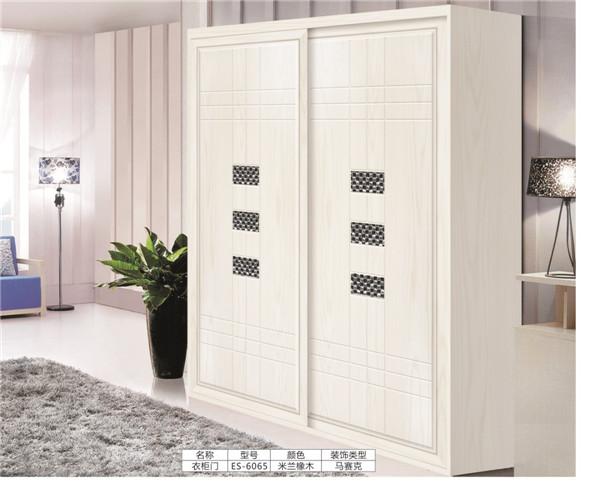 板式衣柜移门:ES-6065