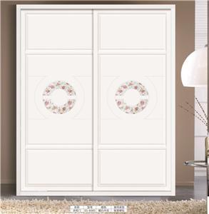 板式衣柜移门:ES-6085