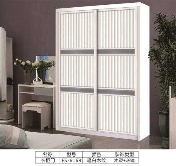 板式衣柜移门:ES-6169