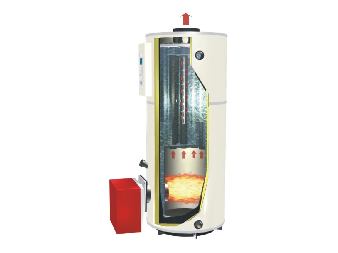 立式燃气油常压热水锅炉