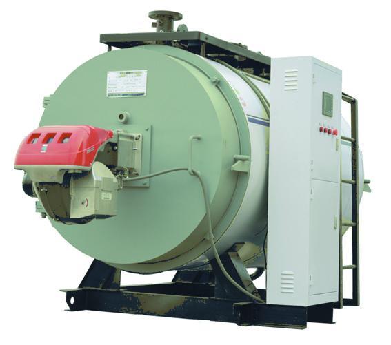 卧式燃气油常压热水锅炉