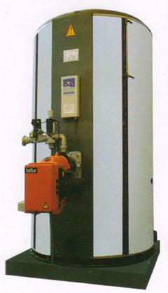 立式燃气油开水锅炉